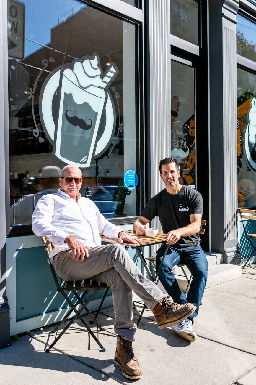 Pendleton Parlor owners Nick Ganim and Nick Ganim,{ } Sr. / Image: Amy Elisabeth Spasoff // Published: 10.26.18