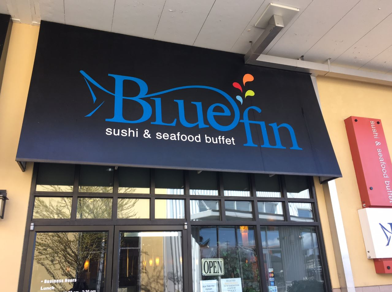 Blue Fin Sushi and Seafood Buffet (credit: Seattle Refined)