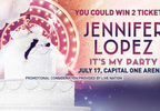 Jennifer Lopez Ticket Giveaway