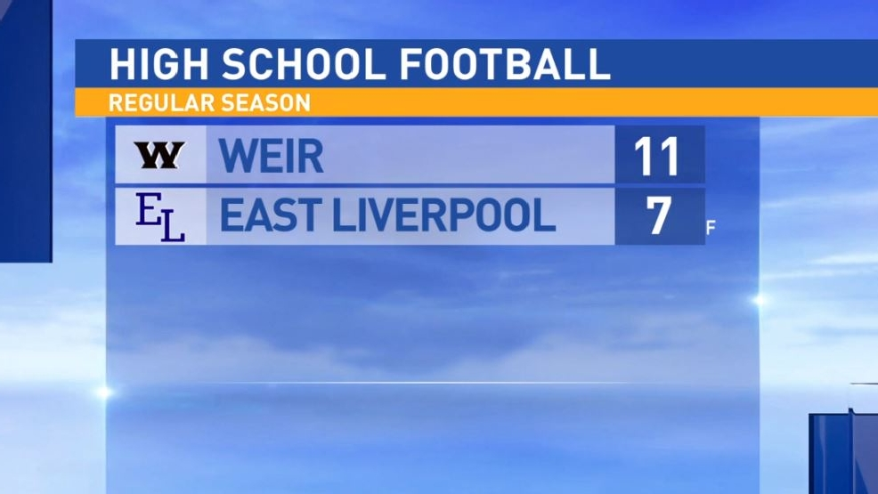 10.21.16 Highlights: Weir at East Liverpool