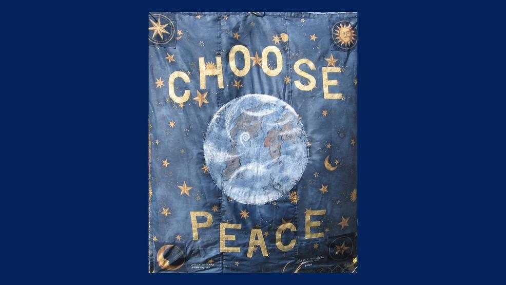 Choose Peace 1 with blue canvas.jpg