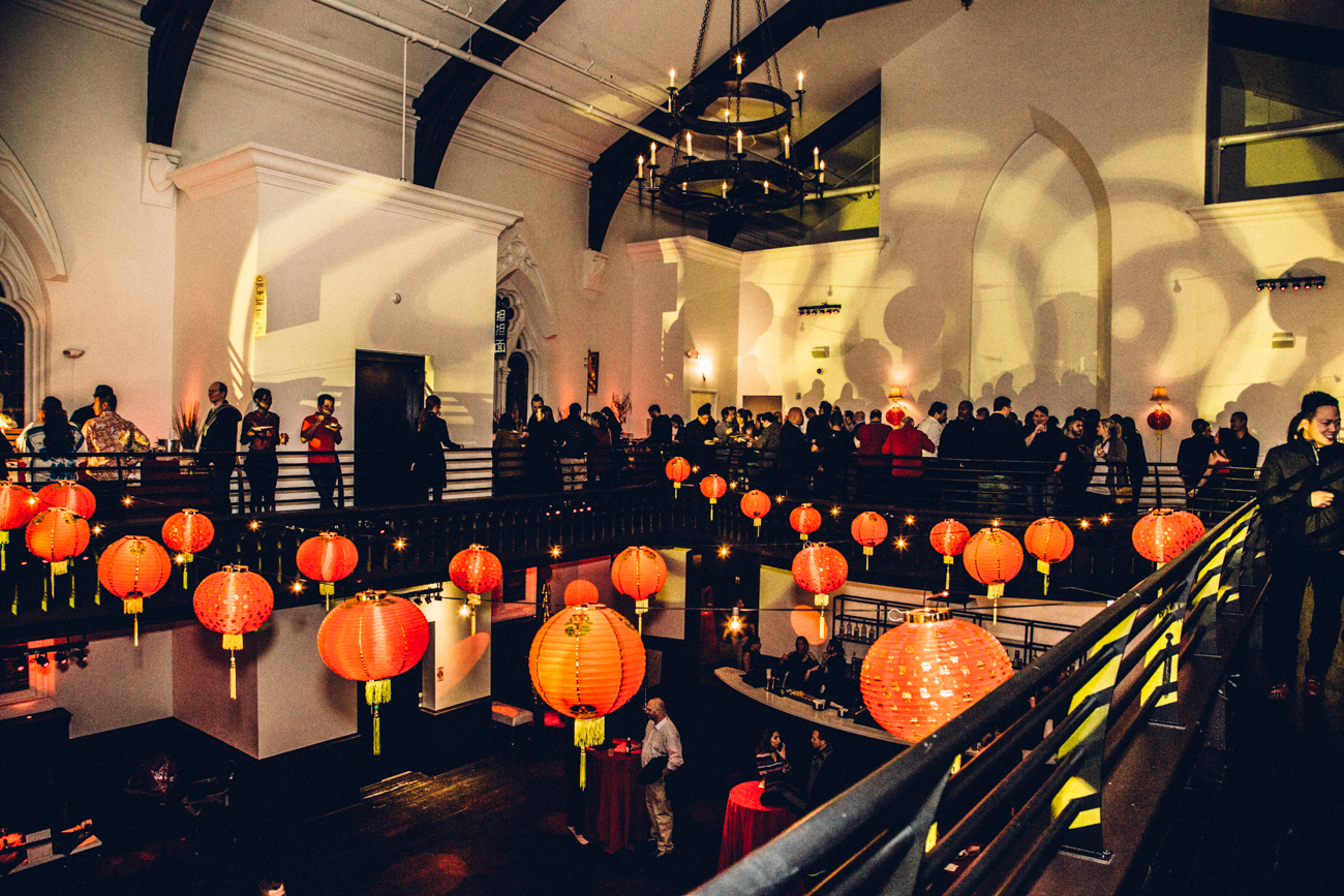 The Lunar New Year was celebrated on Saturday, Jan. 28 with a party at The Transept. The evening included an array of tasty bites, music by DJs Fluid, Druskii, and Junior, and plenty of drinks to ring in the Year of the Rooster. / Image: Catherine Viox