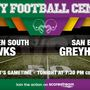 Listen Live: Harlingen South Hawks at San Benito Greyhounds