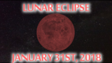 January ends with a total lunar eclipse; will we see it?