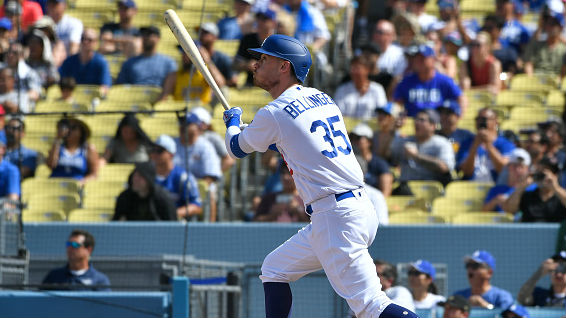 Bellinger belted 47 homers in 156 games this season.{ }
