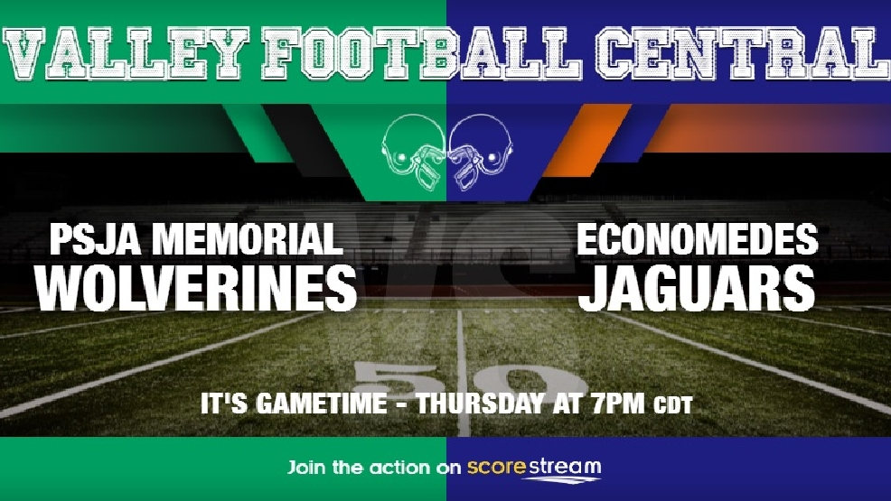 Watch Live: Edinburg Economedes Jaguars at PSJA Memorial Wolverines