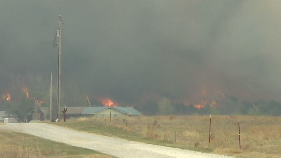 Inside the Storm: Wildfires rip through parts of northwest Oklahoma