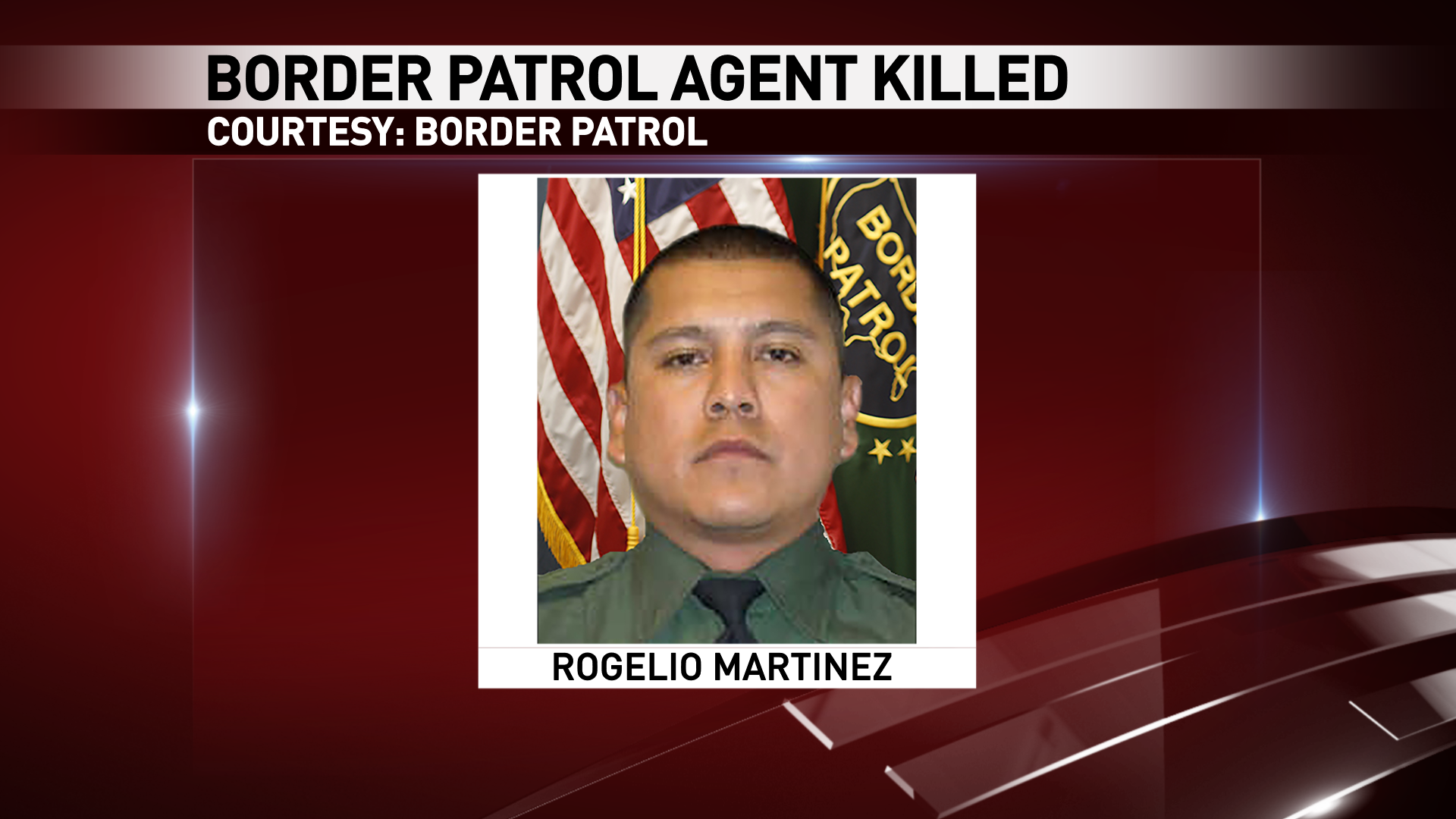 Rogelio Martinez of El Paso was killed in an incident while on duty near Van Horn, Texas Sunday, Nov. 19, 2017. (Courtesy: Border Patrol)
