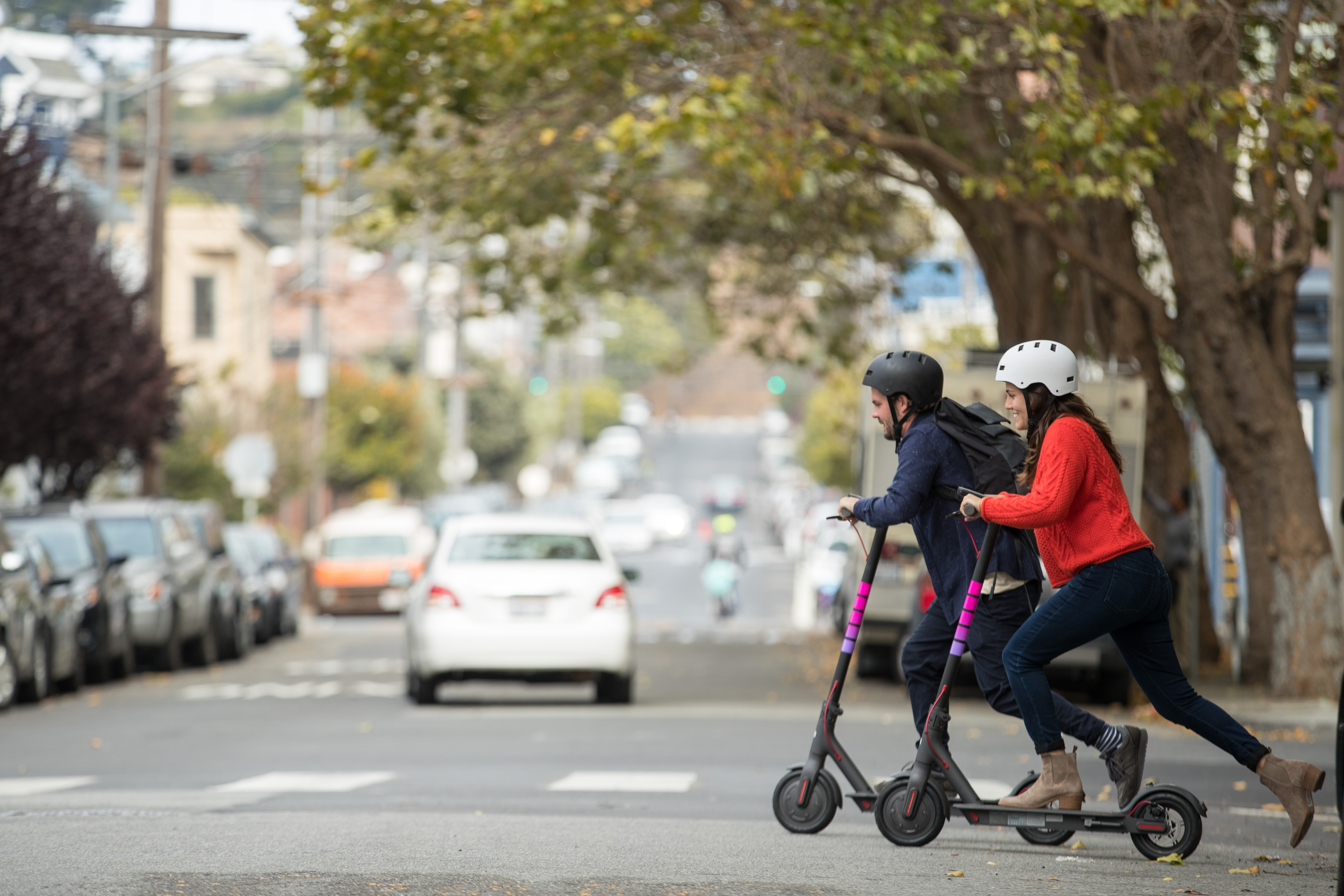 Whether you hate 'em or love 'em, get ready to see a few more electric scooters around town, as Lyft has just announced that they will release their own line in D.C.{ } (Image: Courtesy Lyft)