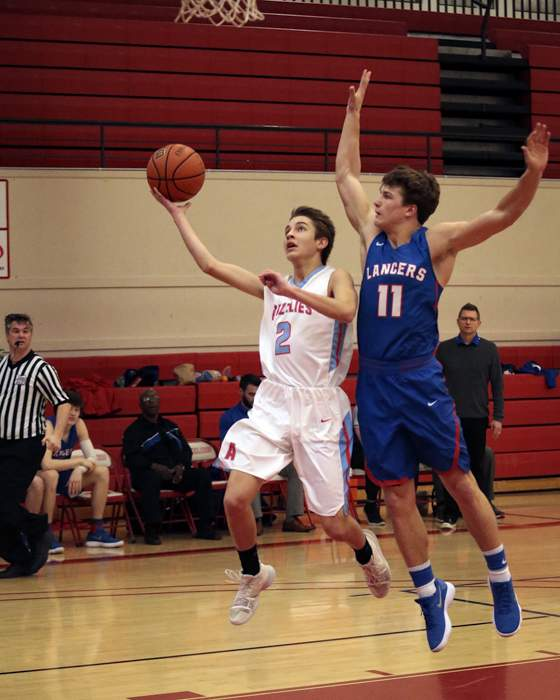Ashland Boys Varsity Basketball vs. Churchill High. [ // PHOTOS BY: LARRY STAUTH JR]