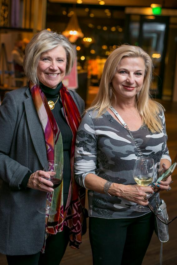 Trish Weeks and Jolie Harris{ }/ Image: Mike Bresnen Photography // Published: 11.16.18