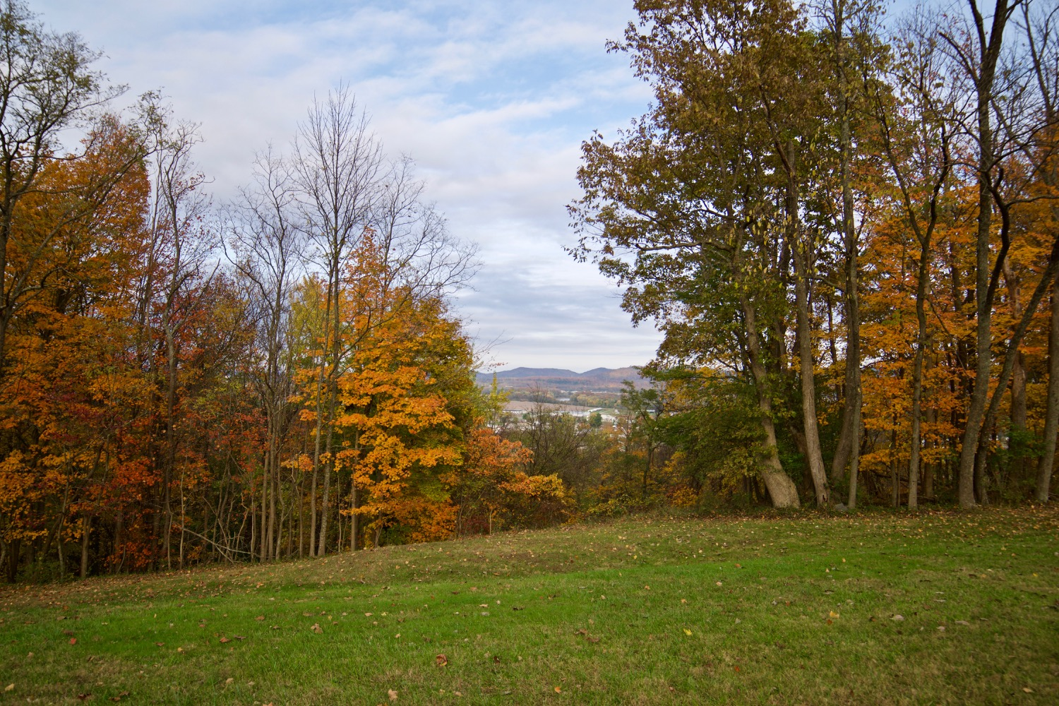 From its charming small towns to its delicious Chillicothe restaurants, Ross County offers everything an intrepid leaf-peeper could want in a fall day trip. The Native American earthworks are a humbling sight too. / Image: Brian Planalp
