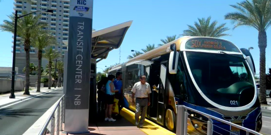 Picture of a bus rapid transit. (ABC7 photo)