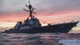 At least 10 missing after USS John S McCain collides with oil tanker east of Singapore