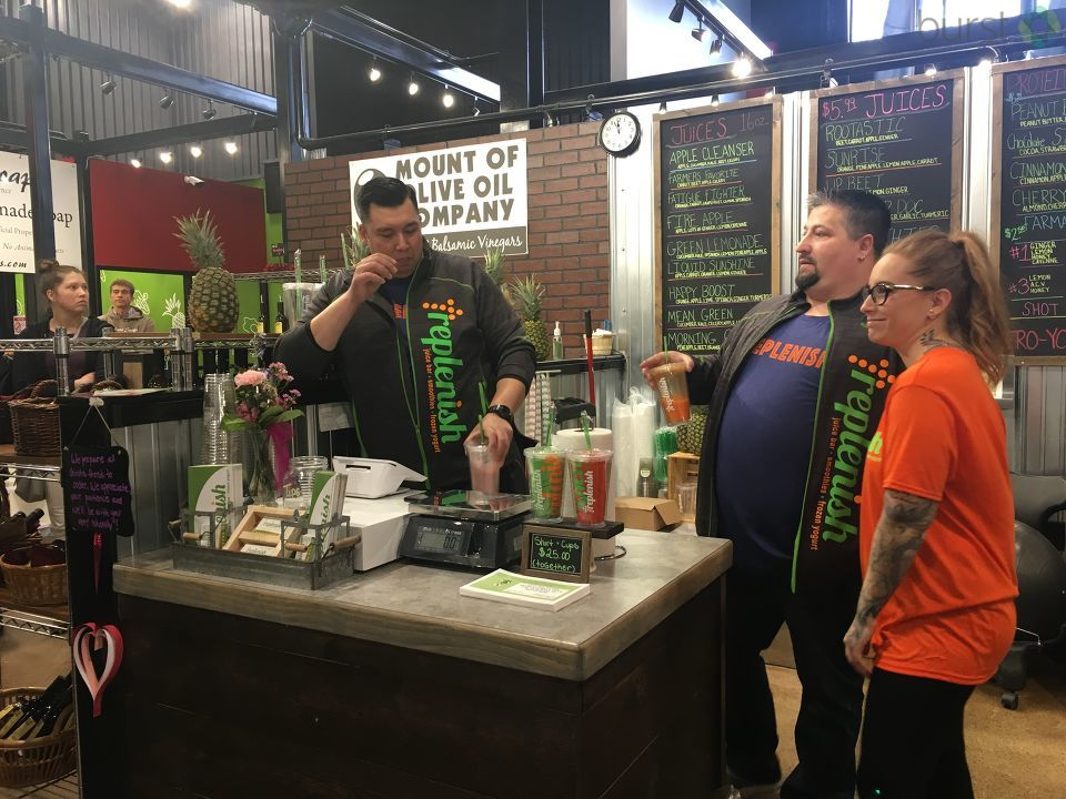 The newest vendor to hit city market had their grand opening Thursday in Bay City. (Photo Credit: Courtney Wheaton)