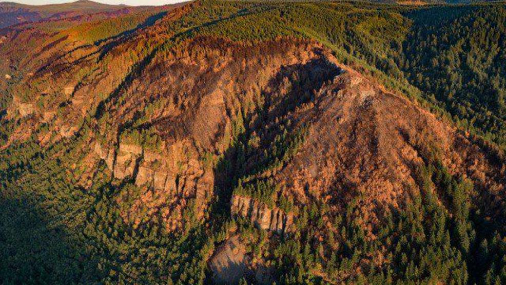Eagle Creek Fire Soil Burn Map Helps Geologists Plan For Possible