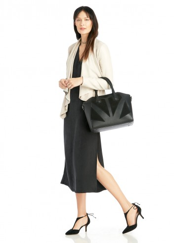In early March, get it water-treated and wear it, well, with the trench and the tote. (Image: Nordstrom)