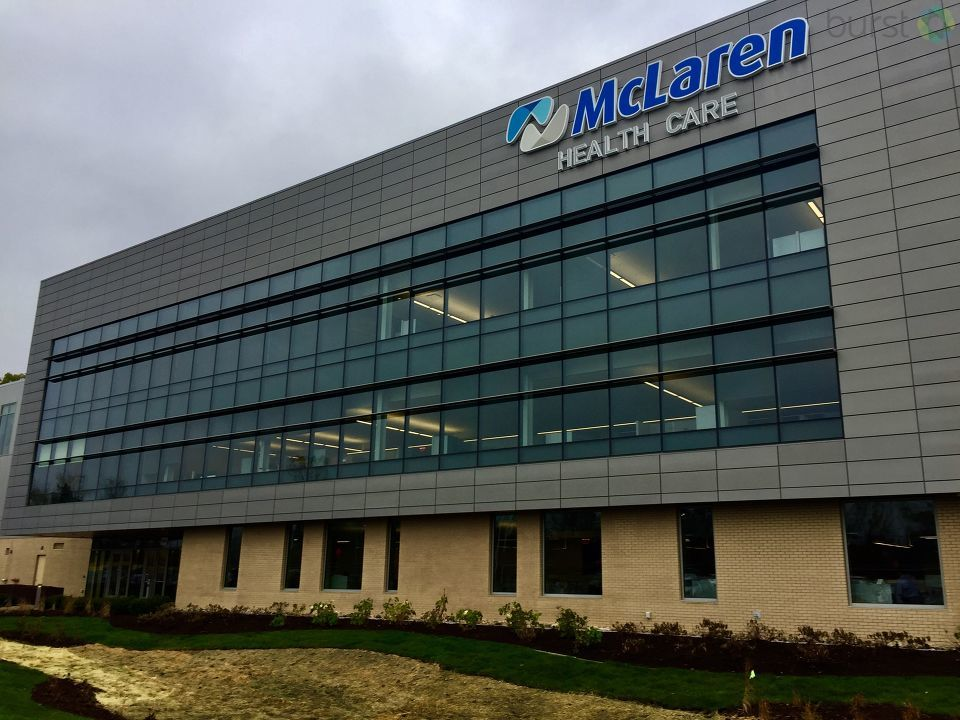 Just this week, McLaren Health Care moved into its new corporate headquarters in Grand Blanc Township. (Photo Credit: Joel Feick){ }