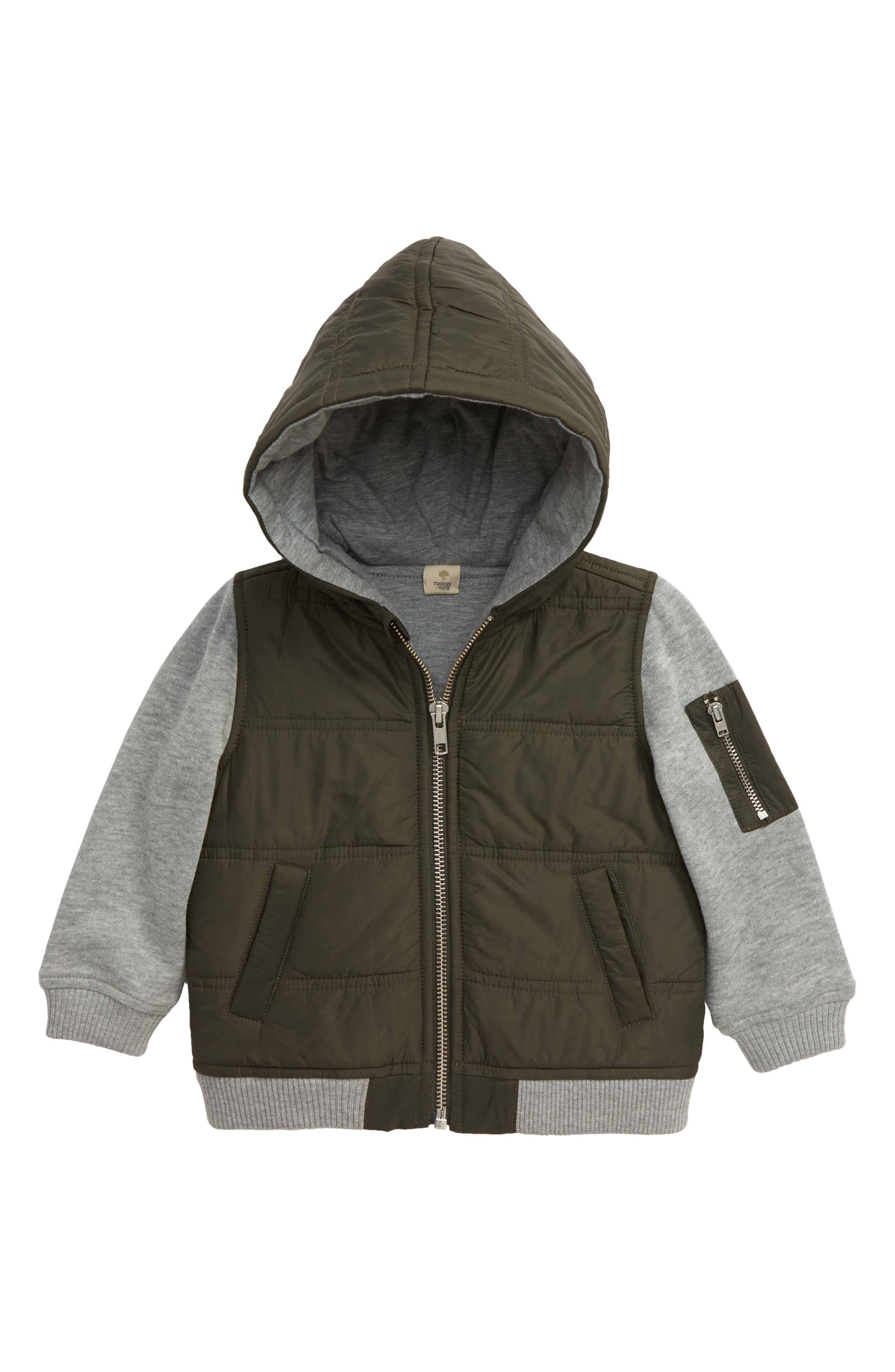 "This{&nbsp;}<a  href=""https://www.nordstrom.com/s/tucker-tate-mountain-crest-nylon-fleece-jacket-baby/5182674?origin=keywordsearch-personalizedsort&breadcrumb=Home%2FAll%20Results&color=olive%20duff"" target=""_blank"" title=""https://www.nordstrom.com/s/tucker-tate-mountain-crest-nylon-fleece-jacket-baby/5182674?origin=keywordsearch-personalizedsort&breadcrumb=Home%2FAll%20Results&color=olive%20duff"">Tucker + Tate, Mountain Crest Nylon Fleece Jacket{&nbsp;}</a>can totally be unisex: $33.90 (after sale $52) (Image: Nordstrom)"