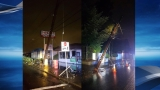 Police: Drivers break two power poles in East Portland, more than 4,000 lose power