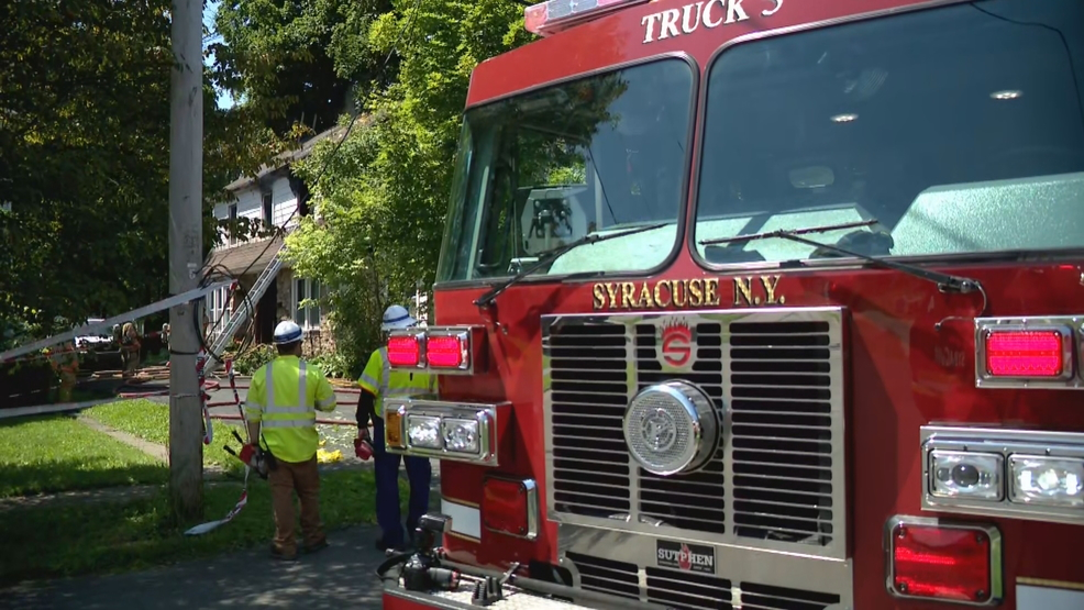 Syracuse Fire Department to host open house & parade Oct. 12