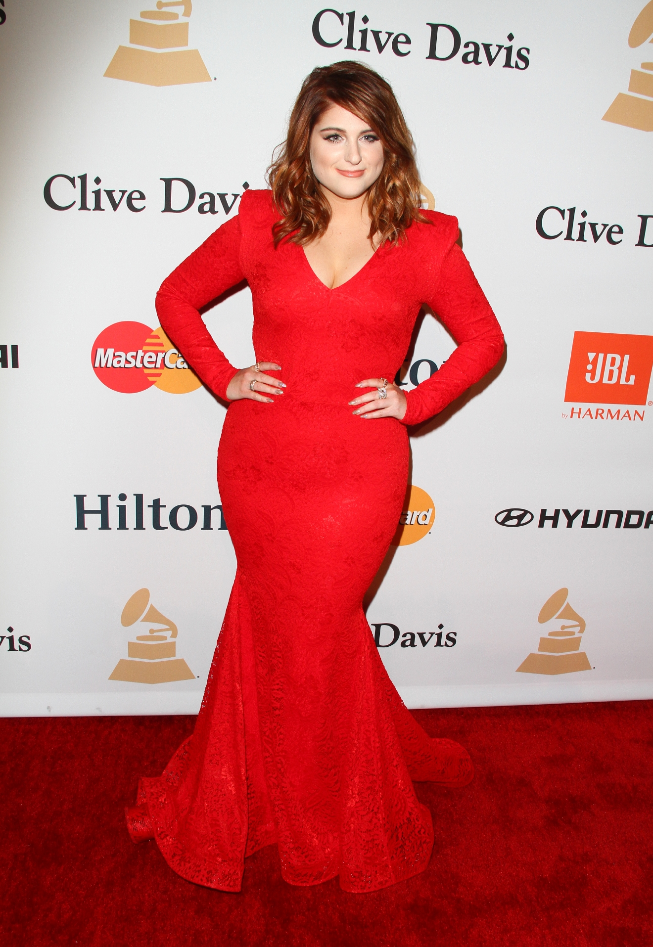 2016 Pre-GRAMMY Gala And Salute to Industry Icons Honoring Irving Azoff                                    Featuring: Meghan Trainor                  Where: Beverly Hills, California, United States                  When: 15 Feb 2016                  Credit: FayesVision/WENN.com