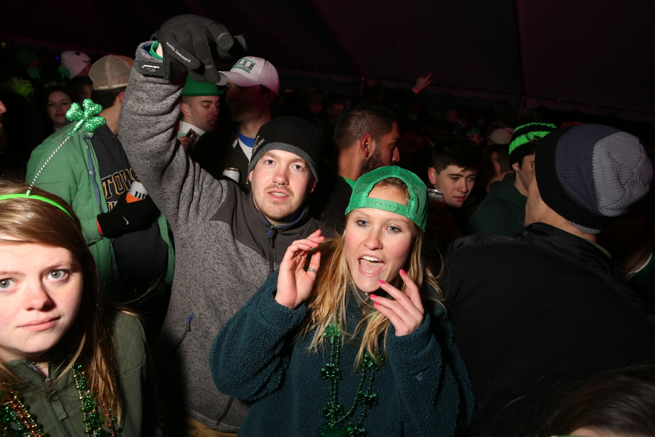 ShamrockFest brought revelers, beer and shenanigans to RFK stadium on March 11.  The annual St. Patrick's Day event features live music from several genres, giving everyone a chance to kick off the holiday  with a beer in hand. (Amanda Andrade-Rhoades/DC Refined)
