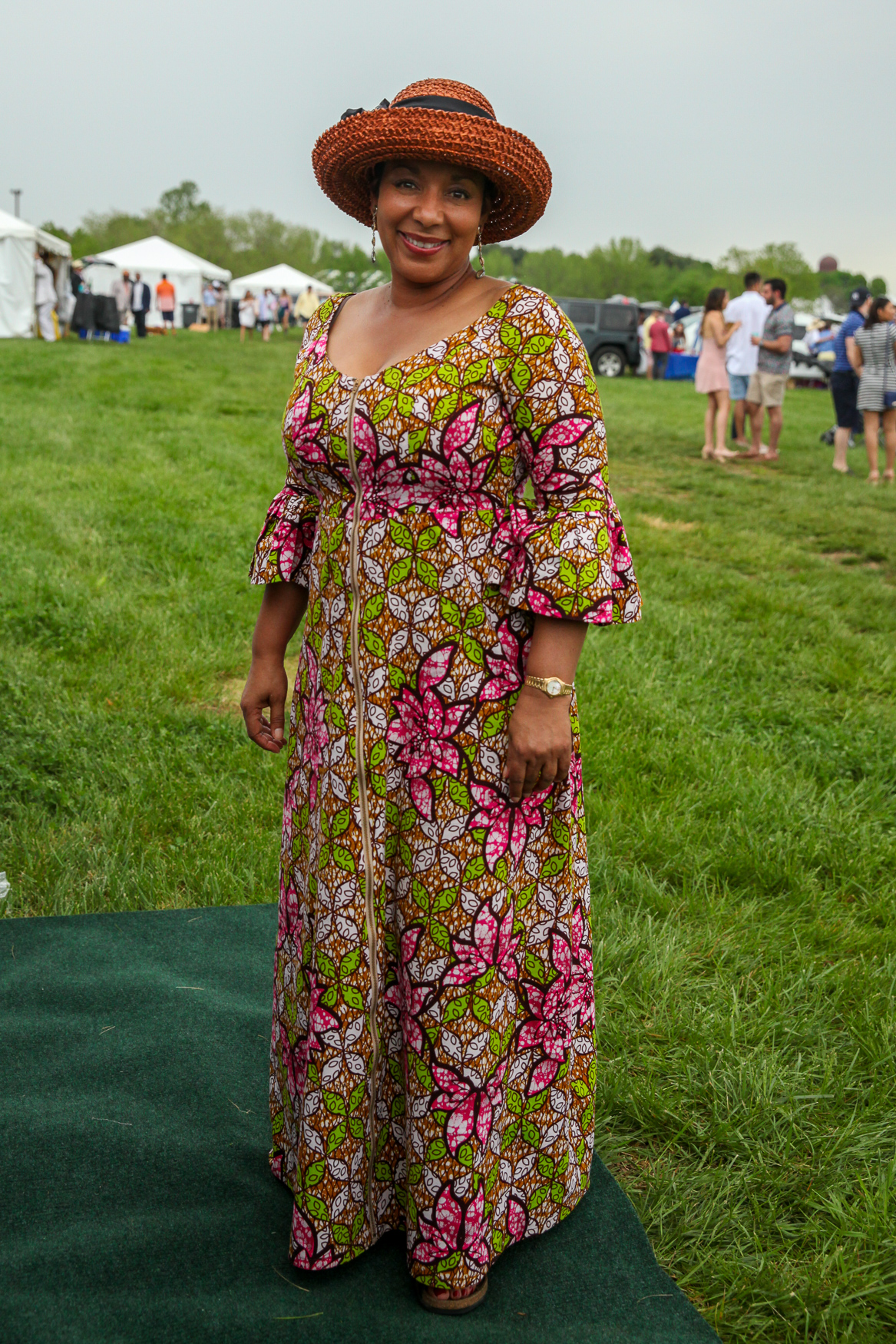 In a sea of Lily Pulitzer, this dress was a refreshing break.{ }(Amanda Andrade-Rhoades/DC Refined)