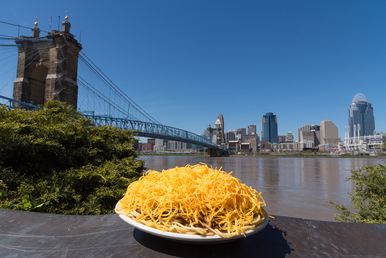 The Roebling Bridge / Image: Phil Armstrong, Cincinnati Refined // Published: 4.25.18