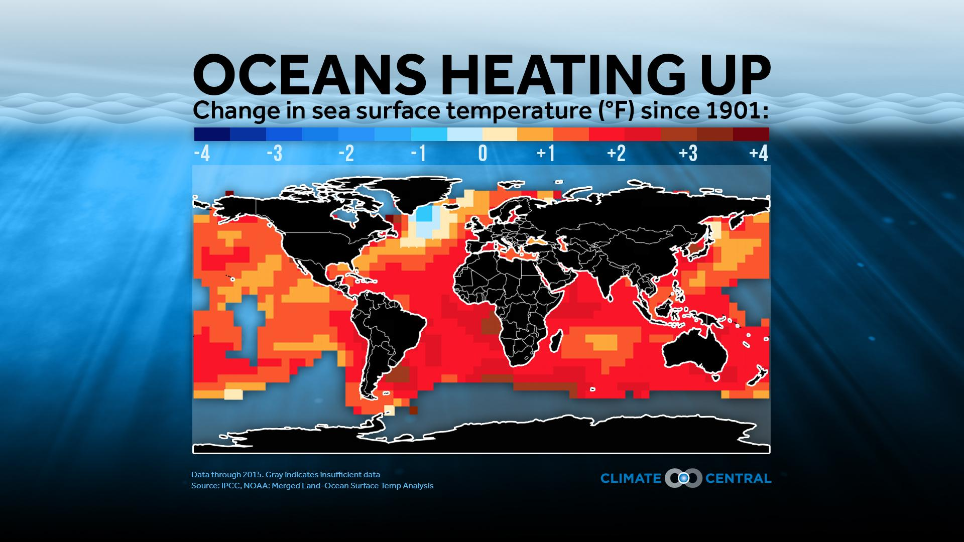 Oceans Heating Up<p></p>