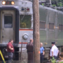 Pedestrian hit by train in Hudson Lake