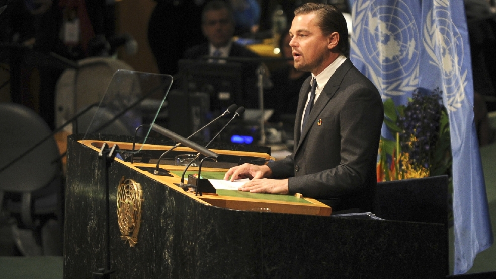 Leonardo DiCaprio to discuss climate change with President Obama