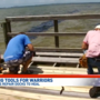 Healing tools for warriors: Veterans repair Niceville dock to heal