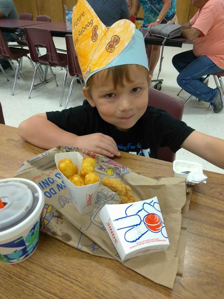 Rylan Ward, 6, was shot four times at the First Baptist Church in Sutherland Springs, Texas, on Sunday, Nov. 5, 2017. He is now in surgery. (Photo: SBG San Antonio)