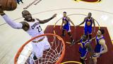 Cavs lose late lead in Game 3 to Golden State, trail NBA Finals 3-0