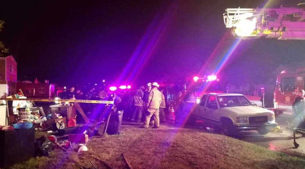 Fire crews responded around 12:30 a.m. Tuesday to the home on East 27th Court near M.L.K. Jr. Boulevard, just south of the Gilcrease Expressway. (KTUL)