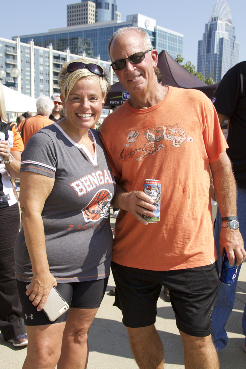 The Cincinnati Bengals lost their home opener to the Denver Broncos 29-17 on Sunday, Sept. 25. But that didn't stop the fans from having a good time before the game. These pics are from the tailgate. / Image: Dr. Richard Sanders.
