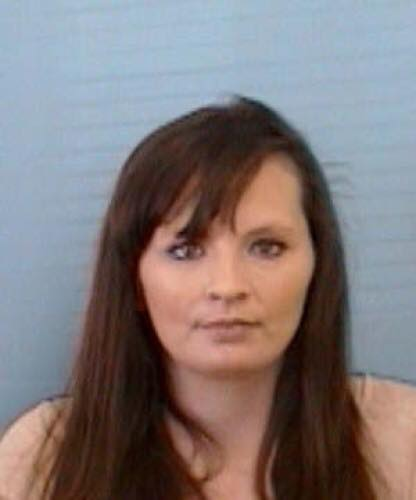 Frank Viola Jr., 36, and wife Brandy Danielle Tipton (PICTURED) were charged with felony neglect of a disabled adult after officers found 66-year-old Anita Tipton with maggots in her hair and covered in human feces. (Photo credit: Mitchell County Sheriff's Office){&amp;nbsp;}<p></p>