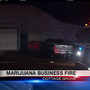 One person taken to burn center following fire at Cottage Grove marijuana business