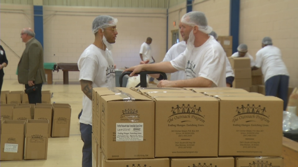 Inmates come together to battle hunger in Ohio   WSYX