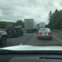 2-vehicle crash delays I-5 traffic in Roseburg