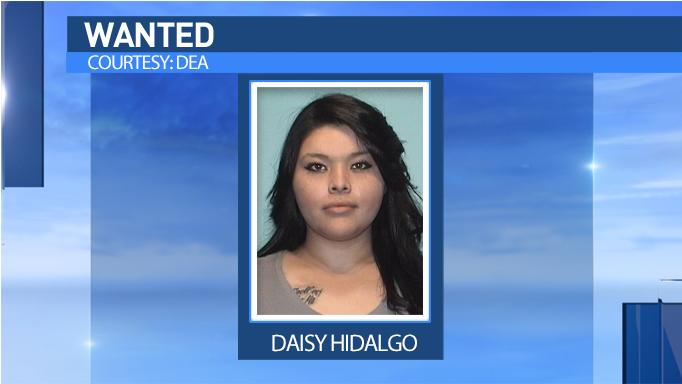 Daisy Hidalgo is wanted by federal authorities.