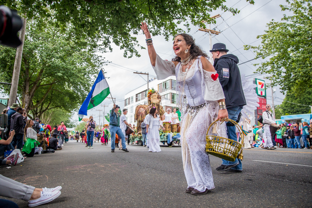 Fremont Solstice Parade on June 18, 2016. Photo by Sunny Martini