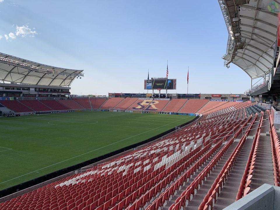 Real Salt Lake soccer game was postponed after players joined other sports leagues in protest. (Photo: Adam Forgie / KUTV)