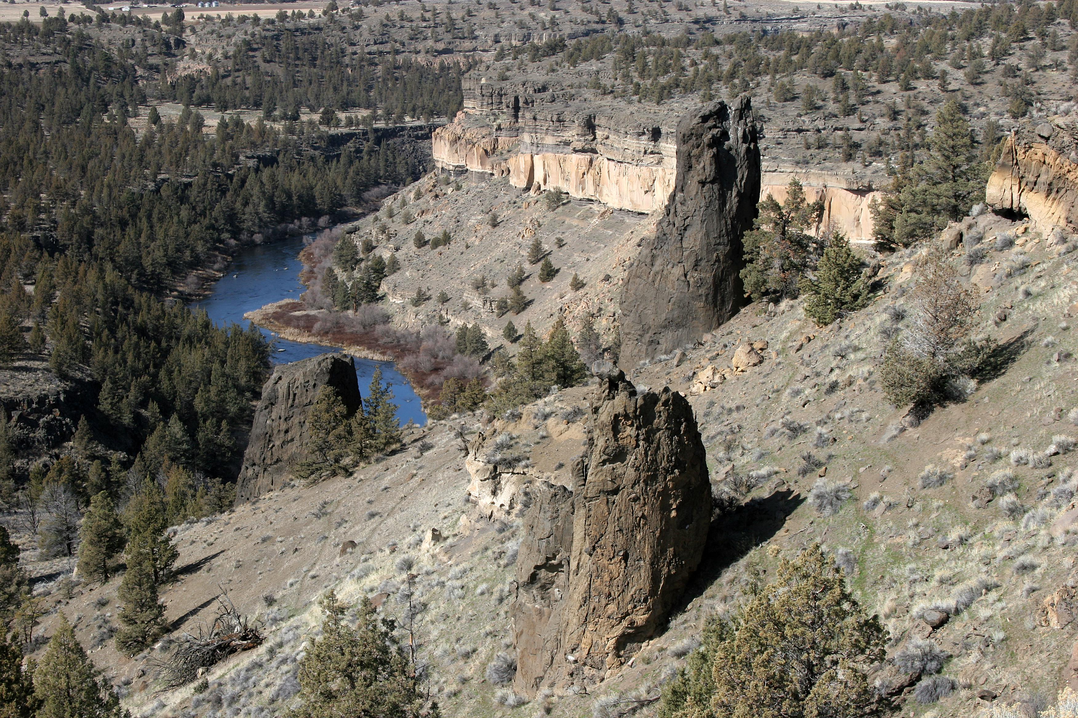 Horn of the Metolius on the Deschutes National Forest (USDA Forest Service)