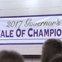 Governor buys Grand Champion steer for $50,000 at Sale of Champions