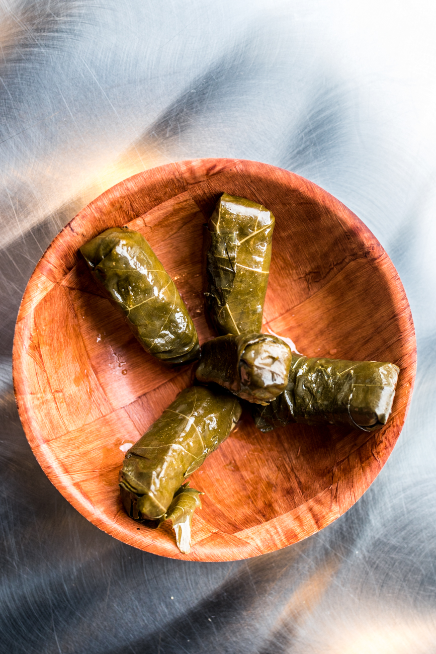 Grape leaves / Image: Catherine Viox // Published: 1.26.20