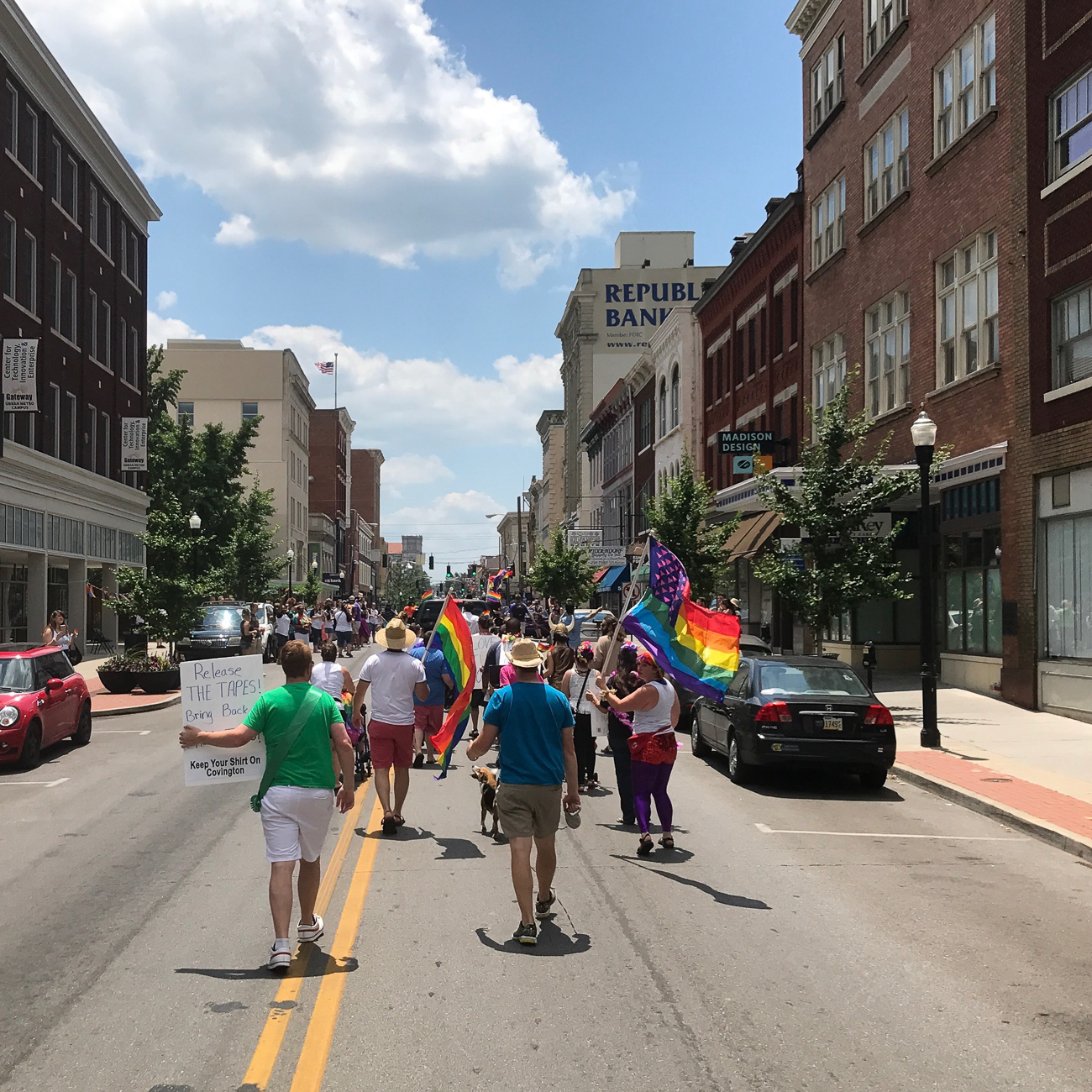 NKY Pride: a parade and ensuing block party to celebrate the LGBTQ community. / Image courtesy of Renaissance Covington // Published: 1.24.18