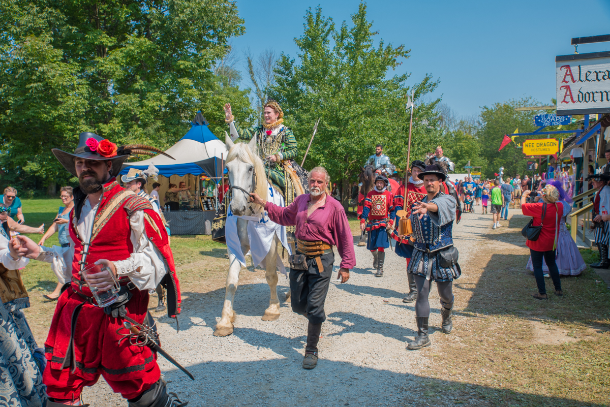 Step back in time to the 16th-century at the annual Ohio Renaissance Festival (Sept. 2 thru Oct. 29, 2017). It takes place on 30 acres in Waynesville, Ohio.  The event features over 150 costumed characters, jousting tournaments, knights in shining armor, a Medieval Marketplace, giant turkey legs, and more. ADDRESS: 10542 East State Route 73, Waynesville, OH 45068 / Image: Sherry Lachelle Photography // Published: 9.19.17