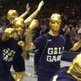 Notre Dame fans pack Purcell Pavilion ahead of game against Georgia